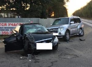 5 человек пострадали в ДТП из-за выехавшего на «встречку» водителя «Приоры» на Ставрополье