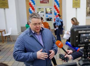 «Организованно и безопасно»: Владимиров поблагодарил за высокую явку жителей Ставрополья на выборах президента