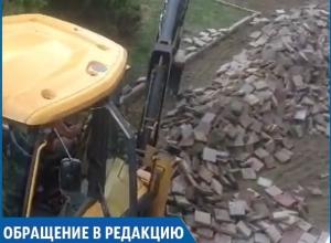 «Зачем менять нормальную плитку?», - житель Ставрополя
