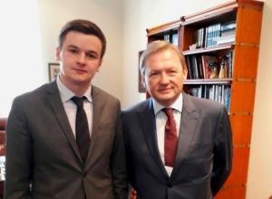 Бизнес-омбудсменом Ставрополья официально стал Кирилл Кузьмин