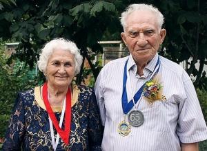 Супружеская пара из Невинномысска стала «Золотой семьей России»