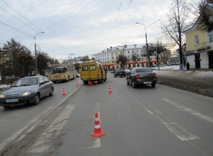 Водитель пассажирской «Газели» сбил пешехода в Ставрополе