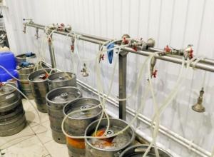 Поддельное пиво варили в подпольном заводе в Минеральных Водах