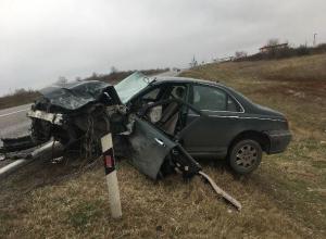 49-летний водитель отечественной «легковушки» погиб в столкновении с иномаркой на Ставрополье