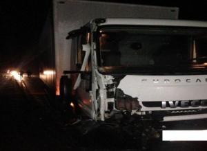 Водитель грузовика сбил владельца иномарки и столкнул авто в кювет на трассе Ставрополья