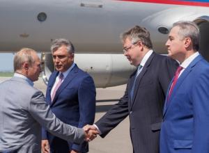 Владимир Путин прибыл на форум «Машук» в Ставропольском крае