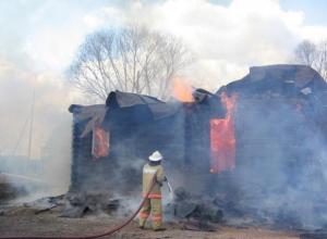 Мужчина сгорел заживо в старом саманном доме на Ставрополье