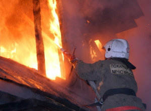 Пожар в Ставрополе уничтожил имущество владельцев