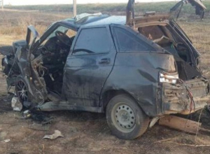 Один человек погиб в результате жесткого опрокидывания «двенадцатой» на Ставрополье