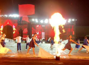 Впечатляющее шоу под открытым небом: «Студенческая весна» пришла в Ставрополь