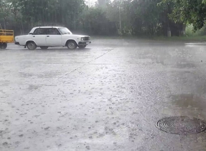 Ливневый дождь и небольшой ветер обещают синоптики ставропольчанам в субботу