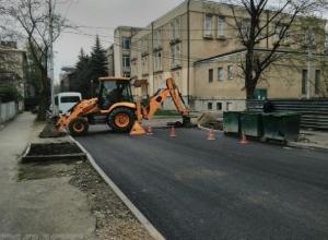 Асфальт на улице в Ессентуках меняли из-за плохого качества, - горадминистрация