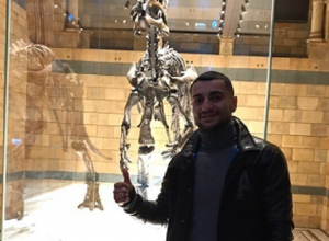 Ставропольского боксера-профессионала поразили механические мамонты в лондонском музее