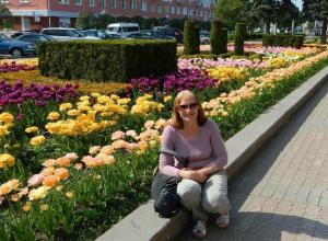 Лица города: Валентина Огнева разрабатывает дизайны клумб Ставрополя