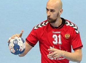Воспитанник ставропольской школы гандбола Тимур Дибиров в последней игре за сборную забил 8 голов