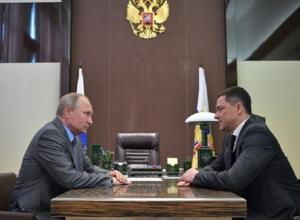 Владимир Путин назначил бывшего зама полпреда в СКФО Ведерникова врио губернатора Псковской области