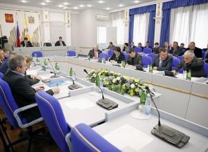 Закон «жирных котов» в двух чтениях приняли депутаты Ставрополья на заседании парламента