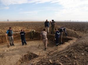 Средневековую мощеную дорогу обнаружили археологи в районе Ставрополья