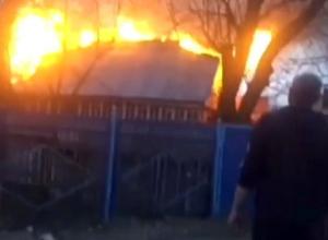 Целая семья осталась без крыши над головой после уничтожевшего их дом пожара в Пятигорске