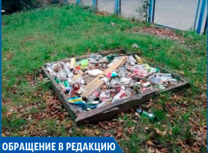 «Свалка на детской площадке», - жительница Ставрополя об ужасе во дворе дома