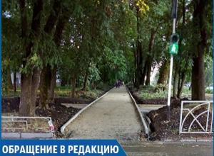 «Лучше бы новые ливнёвки в городе сделали, а не плитку перестилали», - возмущенный житель Ставрополя