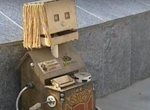 Робот-гадалка по имени «Деревяка» выманивает деньги у жителей и гостей Кисловодска