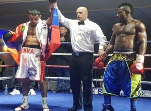 Камерунский боксер был крайне неудобным соперником для меня, - боксер-профессионал из Пятигорска Давид Аванесян