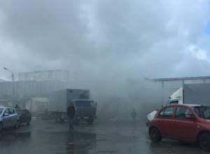 Один человек пострадал в пожаре на овощебазе в Ставрополе