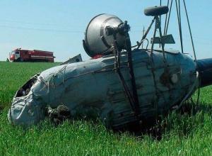 Разбившийся на Ставрополье пилот вертолета МИ-2 скончался от ожогов в реанимации