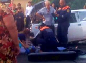 Пассажирка «семерки» погибла в страшном столкновении с «БМВ» в Ставрополе