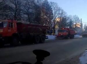 Все оставленные на дорогах и на парковках автомобили принудительно эвакуируют власти Ставрополя