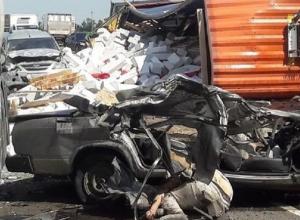 Оба погибших в жуткой массовой аварии под Кропоткиным были ставропольчанами