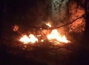 Взрыв автомобиля во дворе всполошил жителей домов Кисловодска