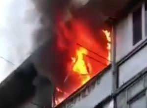 Мужчина уснул с сигаретой и погиб в пожаре в Пятигорске, - очевидцы
