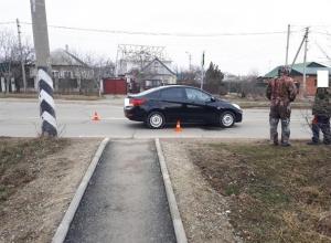 9-летняя девочка получила перелом обеих ног после наезда иномарки в Невинномысске