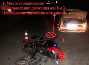 16-летний подросток разбился насмерть на мотоцикле в Ставропольском крае