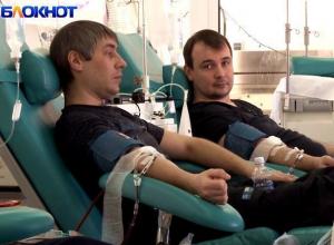 Больше ста доноров ежедневно приходит на станцию переливания крови в Ставрополе