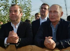Решения со вкусом яблок: для чего Путин и Медведев приезжали на Ставрополье