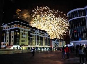 Великолепный салют в честь 240-летия города заворожил жителей Ставрополя
