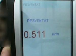 Лишенного прав пьяного водителя заставили дуть в «трубочку» на камеру в Ставропольском крае