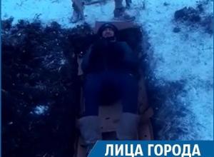 «Похоронить» себя заживо без доступа кислорода решил отчаянный экстремал из Ставрополя