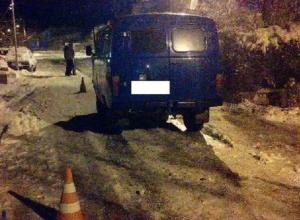 Пятилетнего мальчика на санках сбил УАЗ в Ставрополе