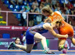 В красочной и бескомпромиссной борьбе ставропольчанка завоевала «бронзу» чемпионата Европы