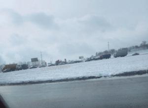 Круг на Дёмино и дорогу на Надежду перекрыли под Ставрополем