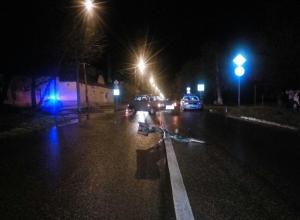 Пьяного велосипедиста-пенсионера сбила «легковушка» на Ставрополье