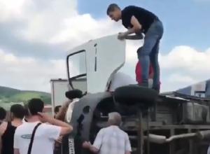 Жесткая авария с участием «Газели» произошла в Пятигорске