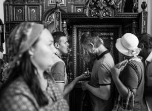 Прикосновение к прекрасному: «Гармонию» посетили представители общества слепых