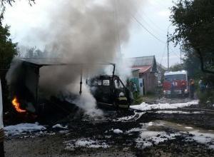 Газовый баллон взорвался в припаркованной «Газели» в Ставрополе