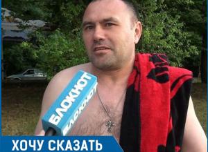 В раздевалках на Комсомольском озере устроили туалеты! - Иван Ярошко