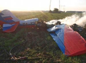 Два человека погибли при падении самолета в Ставропольском крае